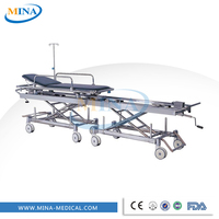 MINA-ST002 hospital patient trolley used ambulance stretcher for sale