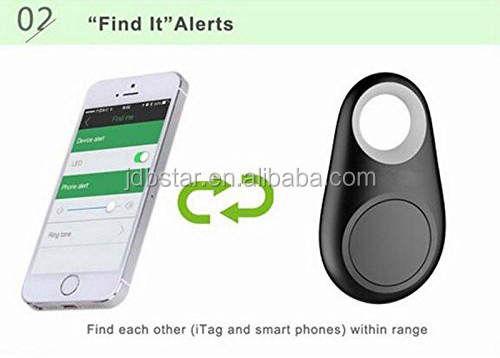 gift bluetooth 4.0 Key Finder Tracker Anti lost alarm with selfie button
