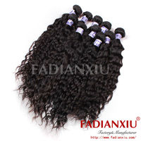 fresh and clean brazilian wet and wavy hair in storage