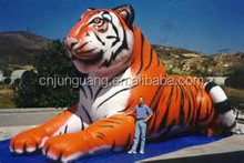 2016 hot sale giant inflatable tiger for decoration