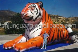 2017 hot sale giant inflatable tiger for decoration