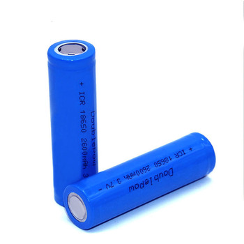 Wholesale Price 18650 2600mah 3.7v Rechargeable Lithium ion Battery cell with Flat Top for UPS energy power