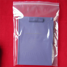 Tight Zipper Top LDPE Material, Printed Acceptable Plastic Packing Bag With Zipper Lock