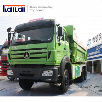 North-Benz China 380HP 6x4 30 ton Beiben Dump Truck Price For Sale