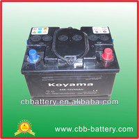 646-12v55ah South African standard dry cell battery