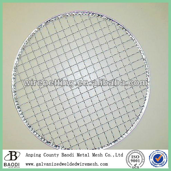welded wire grid non-stick bbq mesh