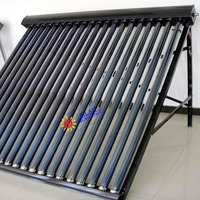 High Efficiency Non Pressure 20 evacuated Tube Project Solar Collector