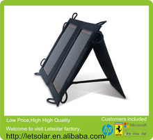 2014 new backpack alex solar monocrystalline solar panel 190w for iPhone and iPad directly under the sunshine