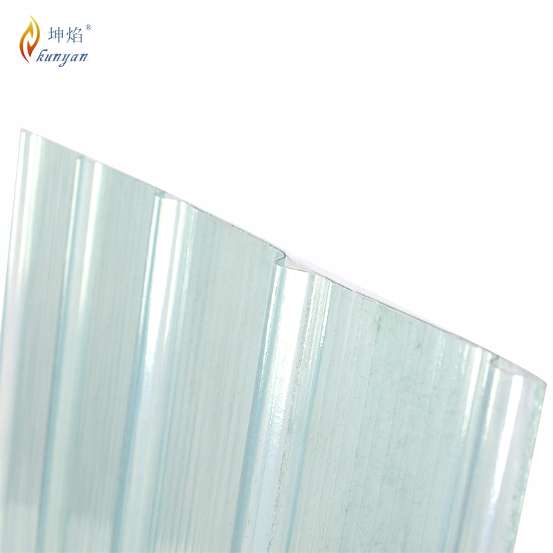 Impact resistance 2.5mm thickness fiberglass rv ceiling material