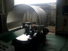 CE standard buffing wheel grinding machine for tanks