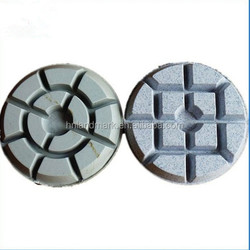 best sales 4 inch diamond velcro polishing pads for wet polishing
