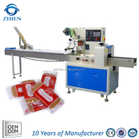 Automatic feeding production line cookies/biscuit packing machine