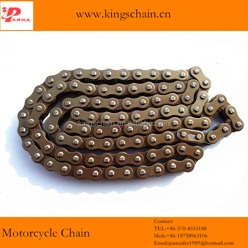 china supplier motor part 40 Mn steel blue motor vehicle chain 420