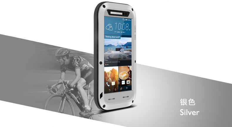 2016 ORIGINAL Love Mei Powerful SHOCkproof Waterproof Rugged Metal METAL case +GORILLA GLASS for htc one m9