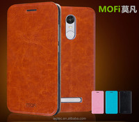 2016 MOFi Flip Luxury PU Leather Case for XiaoMi RedMi Note 3, Back Cover for Xiaomi RedMi Note 3 pro