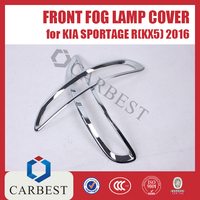 High Quality Tail Fog Light cover for Kia Sportage R 2016