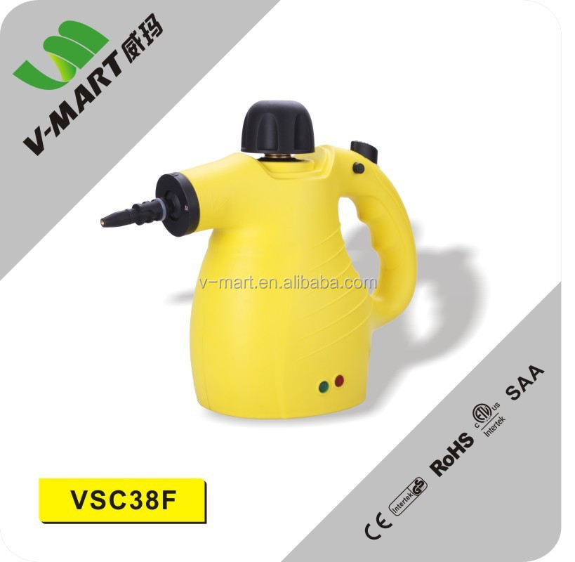 v-mart hot selling powerful home steam cleaner with GS CE ROHS ETL