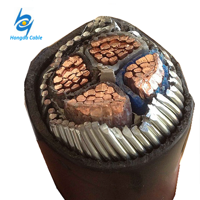 4 Core 95mm 120mm 0.6 /1KV Copper XLPE Armoured Underground Power Cable