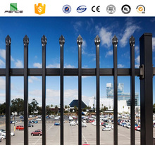 Commercial steel fence , galvanized decorative steel fence panels