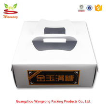 Custom Logo Printed Small Product Apple Pie Packaging Box