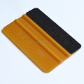 A02G PA-1 3M gold squeegee with Fabric edge sqaure card squeegee