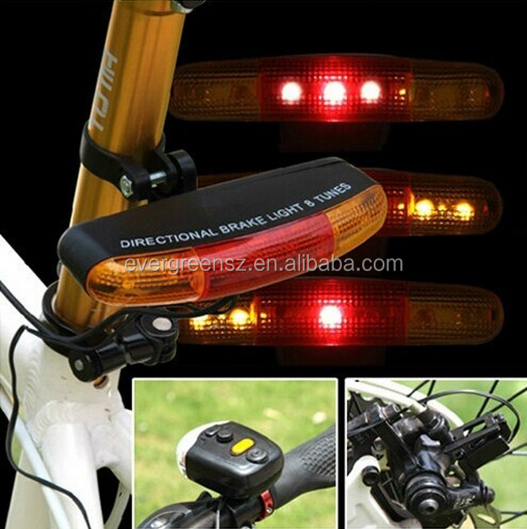 Multifunctional Indicator Lamp Bicycle Rear Brake Light