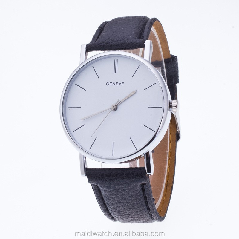 Men Brand Fashion Geneva Watches White Women Dress Watch Casual Ladies WristWatch GW084
