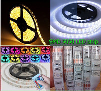 5m warm white smd 5050 waterproof flexible 300led strip 3000-3500k sunny light