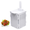Plastic Cube for Slicing BBQ meat/Uhmwpe skewer Making Box Factory