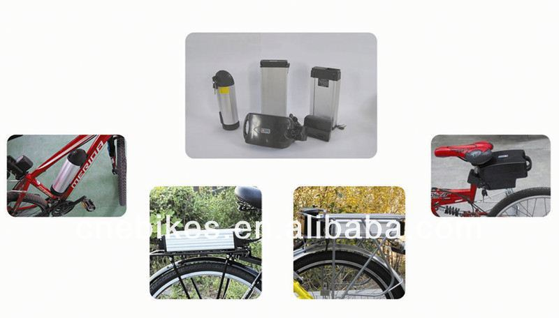 2014 newest lithium battery pack li-ion battery for electric bicycle