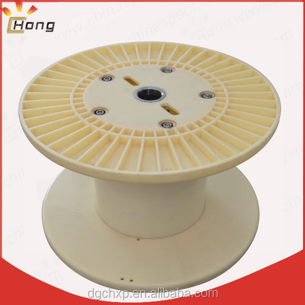 plastic reel spool for wire production