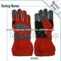 Karting gloves Red