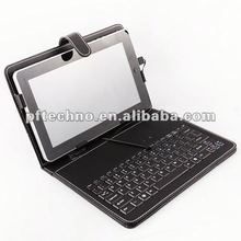 Hot! 7 inch tablet pc keyboard/case