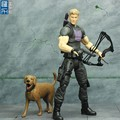 the arrow man plastic action figure, custom 6inch movice character action figure toy