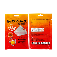 disposable heat patches/body warmer/hot pack/hot pack hand warmers
