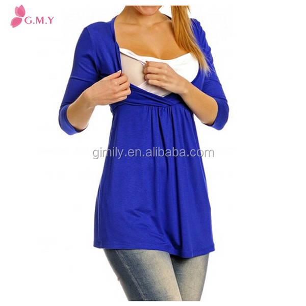 Women's Maternity front open breastfeeding clothes