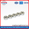 Plastics Dental Drill Mini Deep Groove Ball Bearing MR74