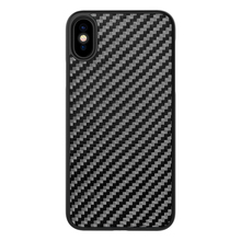 Carbon fiber plate phone case no affect WIFI signal ,for iPhone 8 PC carbon fiber shell