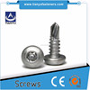 Stainless steel Teks Hex Washer Head Imperial Self Drilling Screw