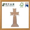 FSC&SA8000 high quality decorative unfinished stand wooden crosses