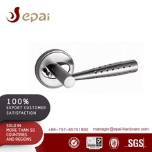 Stainless Steel Door Lever Handle With Dot/Hidden Door Handle Lock EA-6920