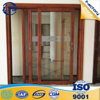 Factory wholesale price heat insulation waterproof aluminum profile for sliding door india style
