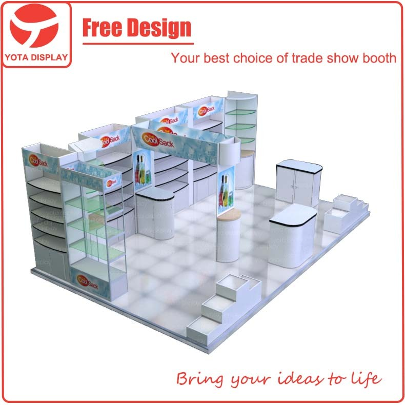 Exhibition Booth Equipment : Yota custom or exhibition booth trade show