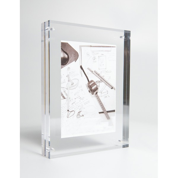 5x7'' Acrylic magnetic photo frame acrylic picture frame