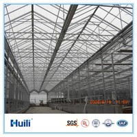 Huili Bayer raw material Hollow Polycarbonate Sheet used in Greenhouse
