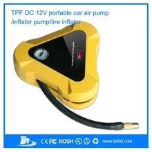 New hot selling best portable mini small tyre inflator/ air compressor/ air compressor pump