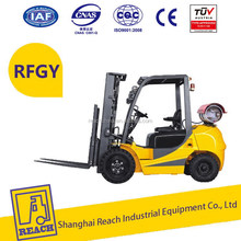 Industry used hot selling imported nissan lpg forklift truck