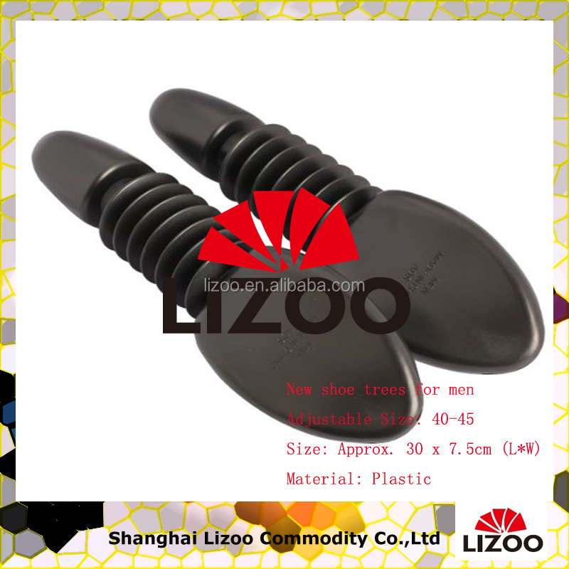 wholesale different kinds of new style cheap plastic adjustable shoe trees