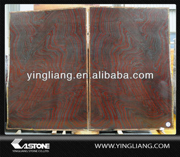 Iron Red Granite polished slabs