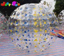 China manufacturer custom made big grass hamster zorb ball colorful